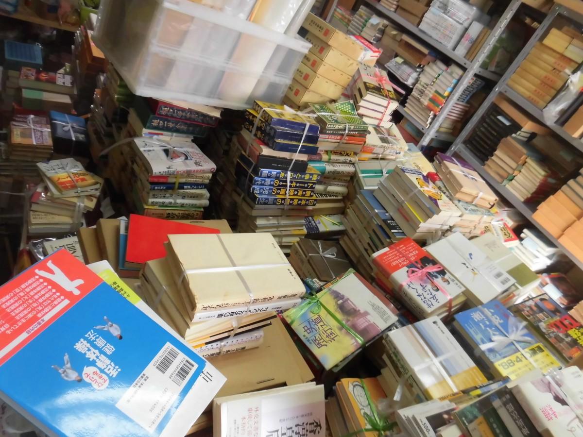 吉備中央町で古本約1万冊買取。